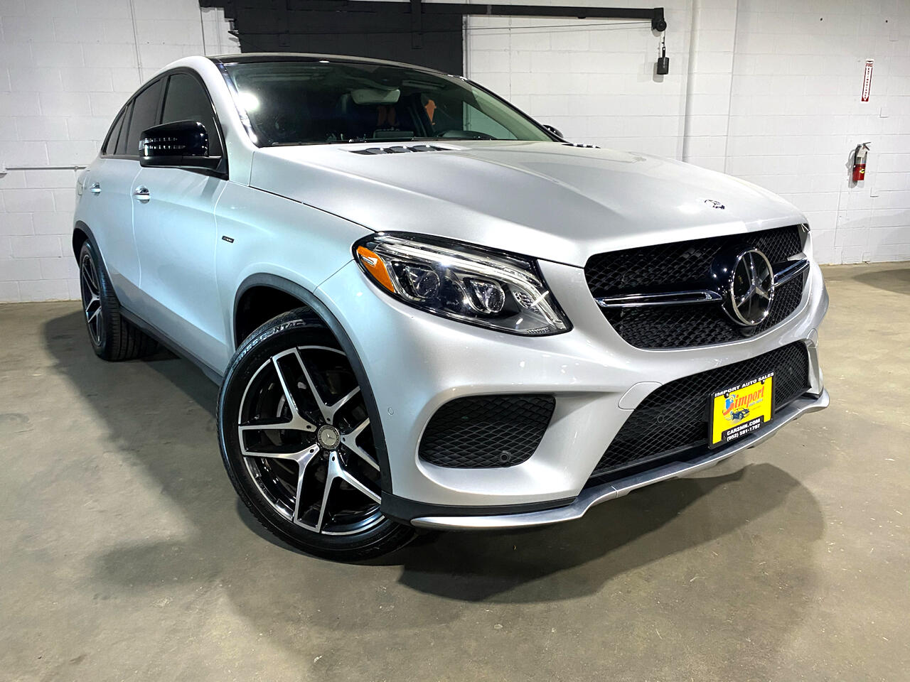 Mercedes-Benz GLE 4MATIC 4dr GLE 450 AMG Cpe 2016