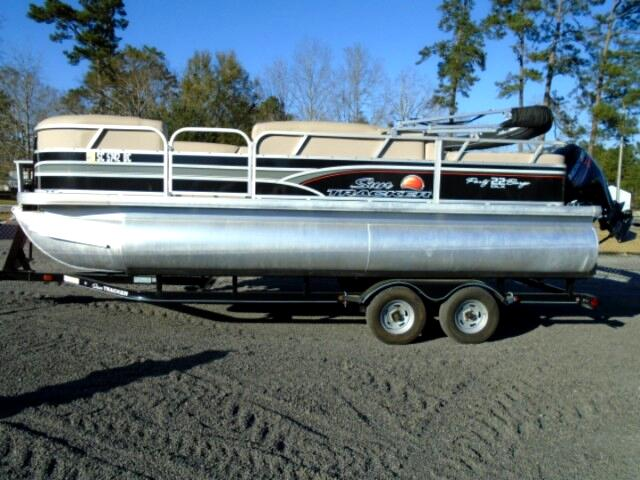 2015 Suntracker Party Barge