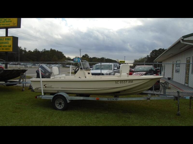Scout 175 Sportfish Center Console  1995