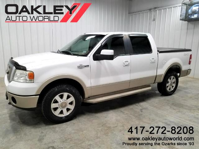 2008 Ford F-150 King Ranch SuperCrew Short Bed