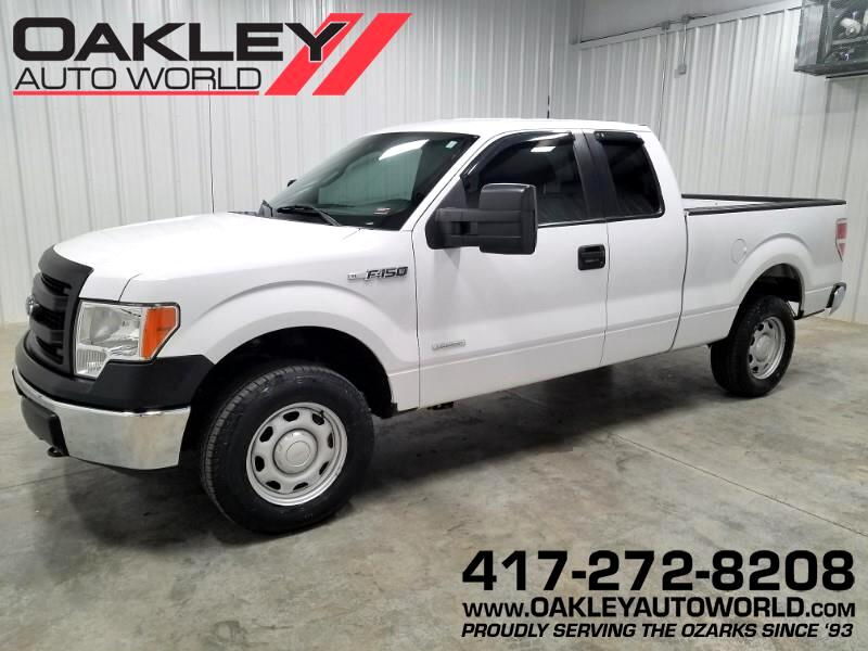 2014 Ford F-150 XL SuperCab Short Bed 4WD