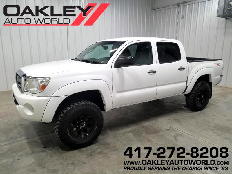 2010 Toyota Tacoma 4WD Double Cab LB V6 AT TRD Off Road (Natl)