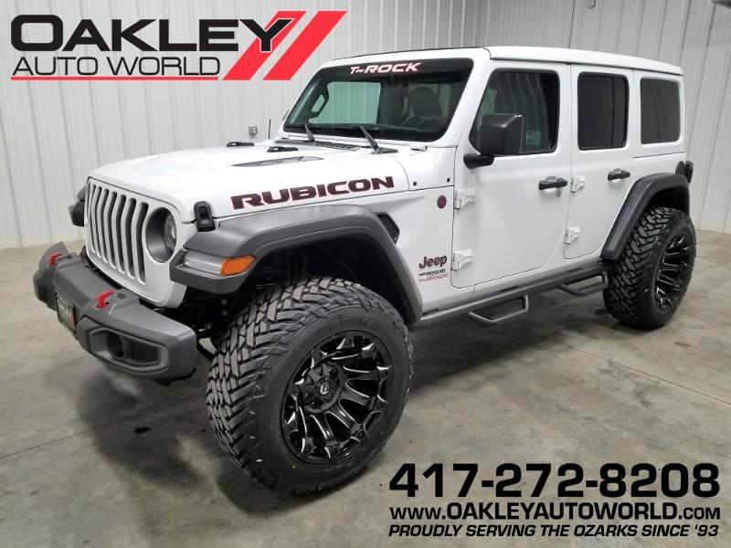 2019 Jeep Wrangler Unlimited Rubicon T-Rock Edition