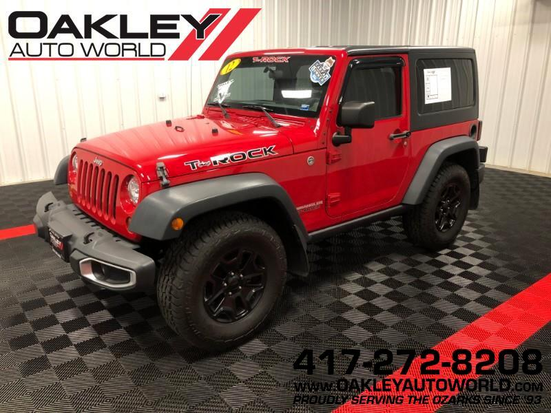 2012 Jeep Wrangler Sport 4WD T-ROCK Edition