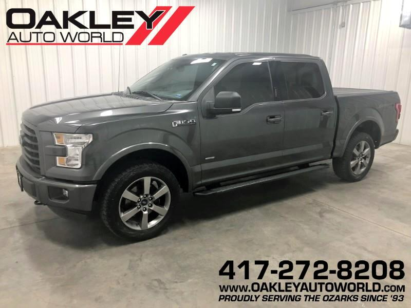 2016 Ford F-150 XLT SuperCrew Sport 4WD