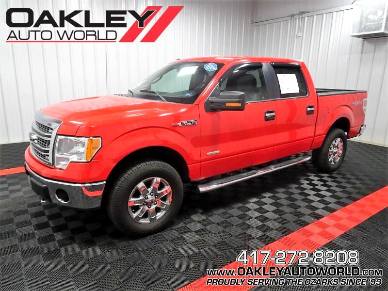 Ford F-150 XLT SuperCrew 4WD 2013