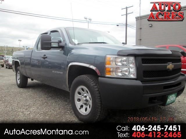 2011 Chevrolet Silverado 1500 Ext. Cab 4-Door Long Bed 4WD