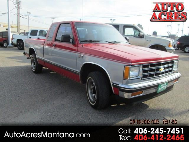 1990 Chevrolet S10 Pickup Ext. Cab Short Bed 2WD Manual
