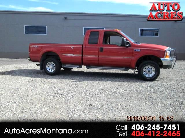 2001 Ford F-350 SD XLT SuperCab Long Bed 4WD