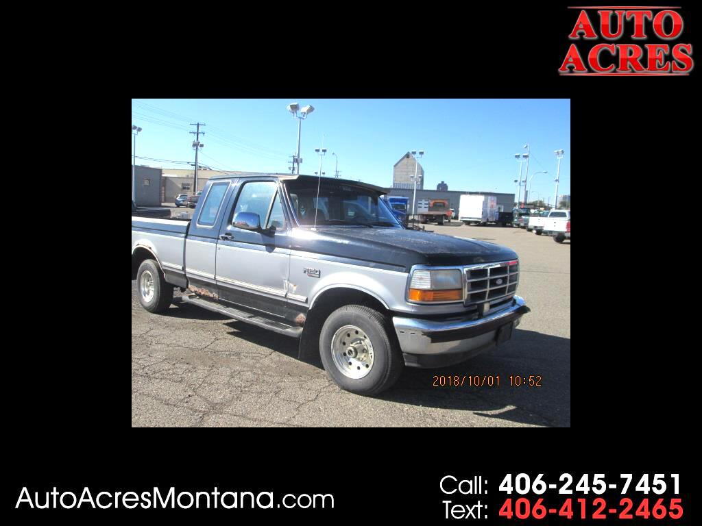 1995 Ford F-150 Supercab 138.8