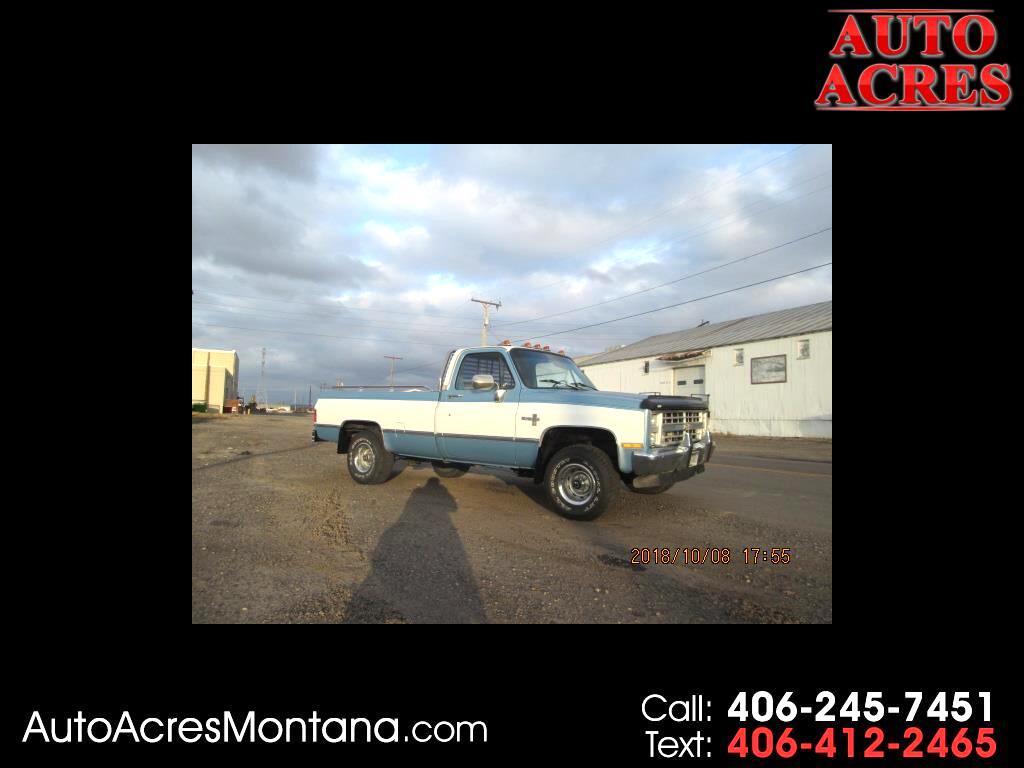 1987 Chevrolet 1/2 Ton Pickups V10/15 Fleetside 117.5