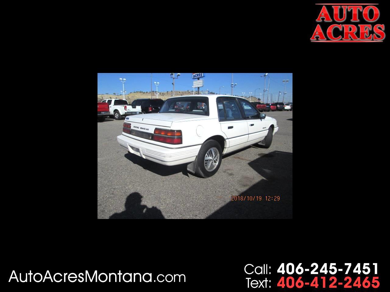 1991 Pontiac Grand Am 4dr Sedan LE