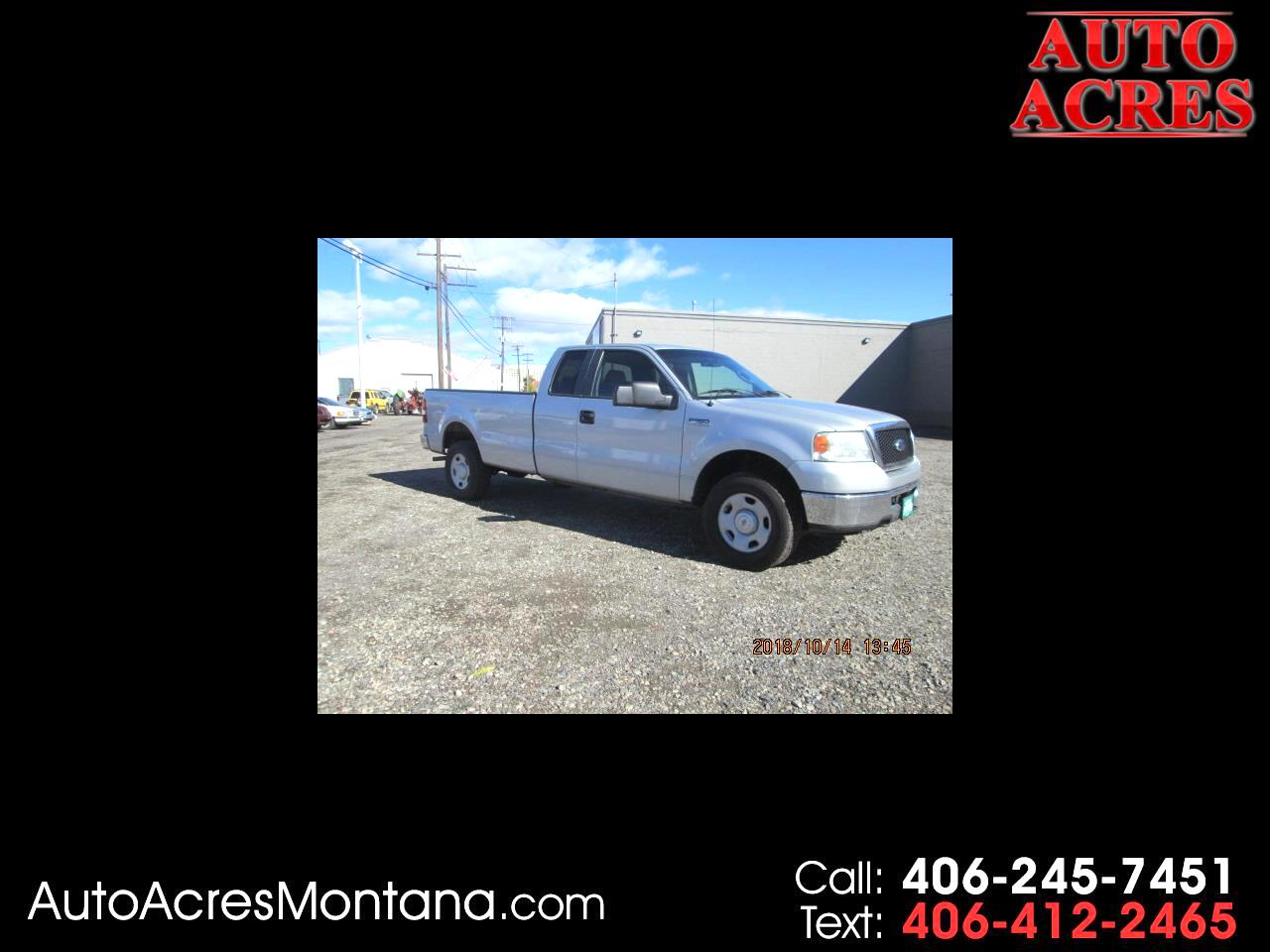 2007 Ford F-150 4WD Supercab 163
