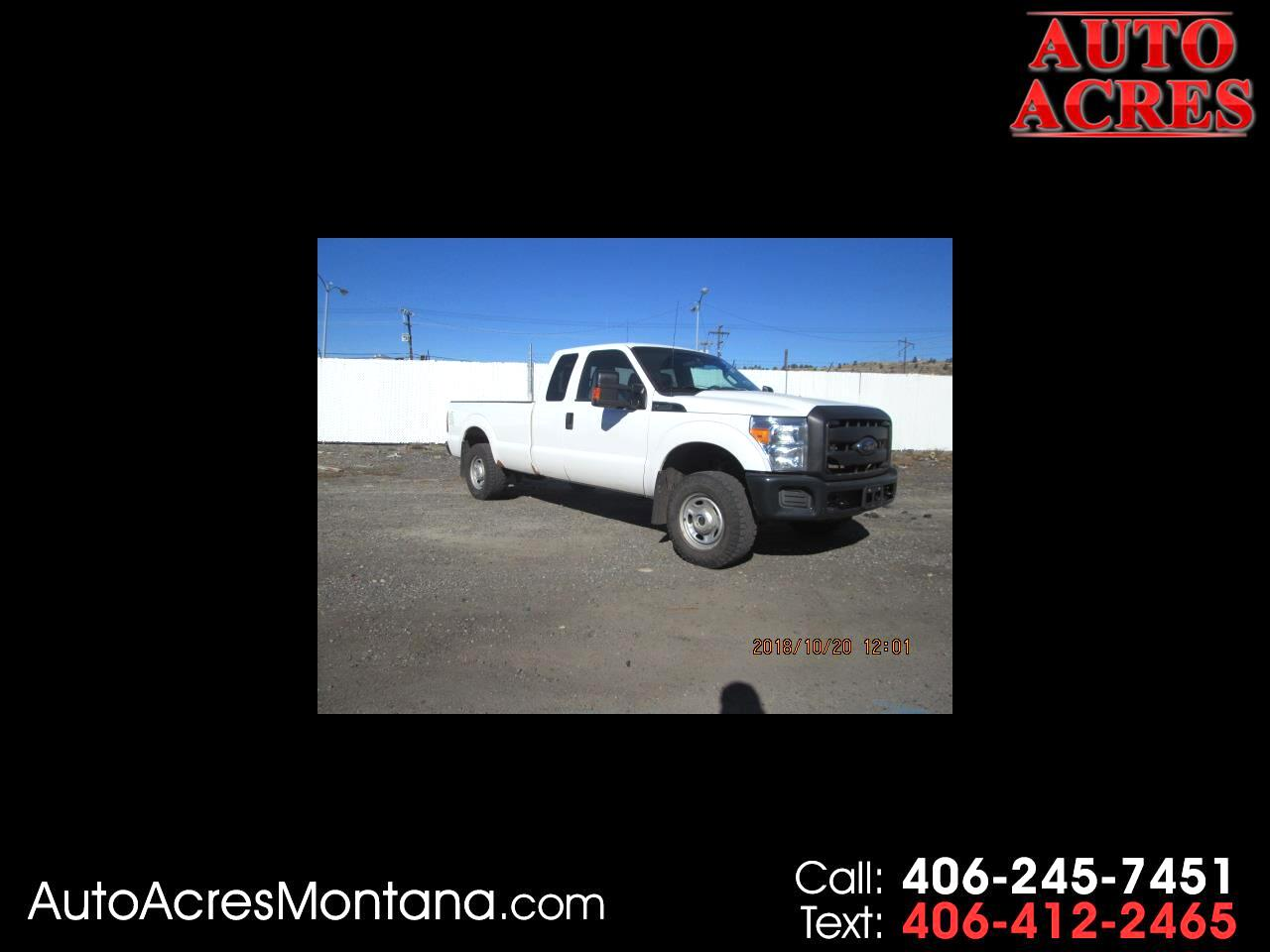 "2014 Ford Super Duty F-250 SRW 4WD SuperCab 158"" XLT"