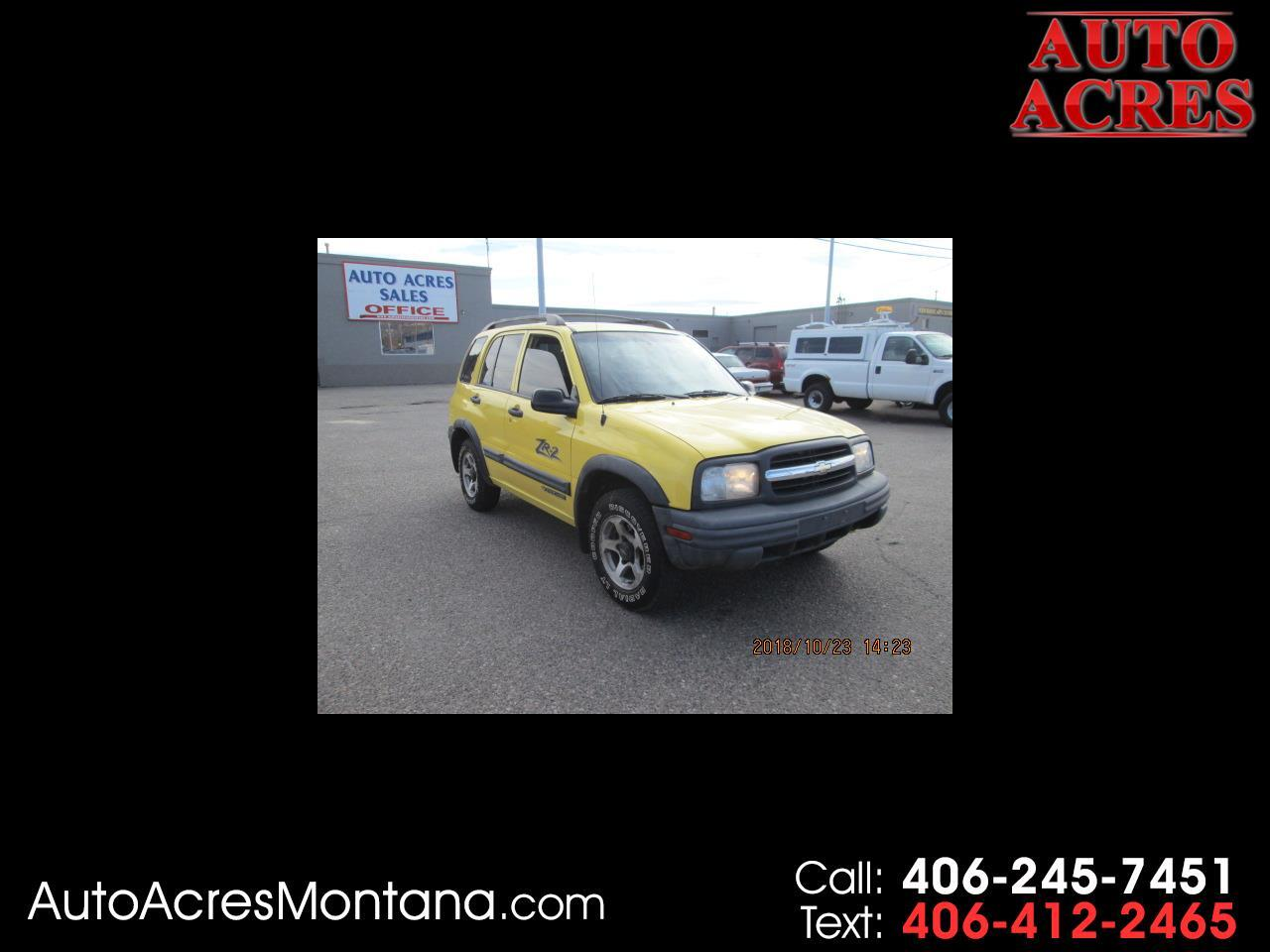 2002 Chevrolet Tracker 4dr Hardtop 4WD ZR2