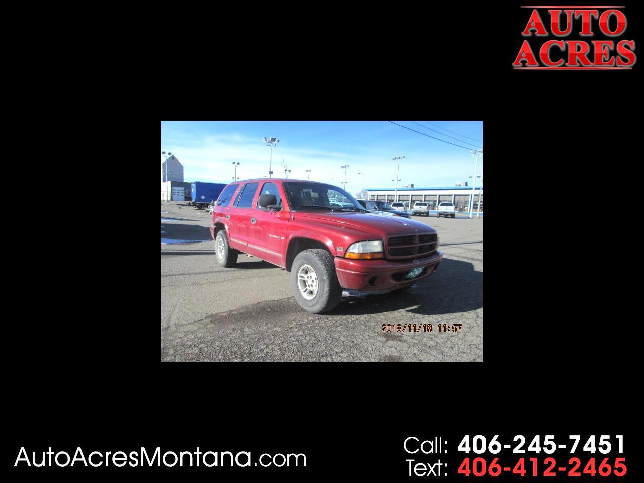 1999 Dodge Durango 4dr 4WD