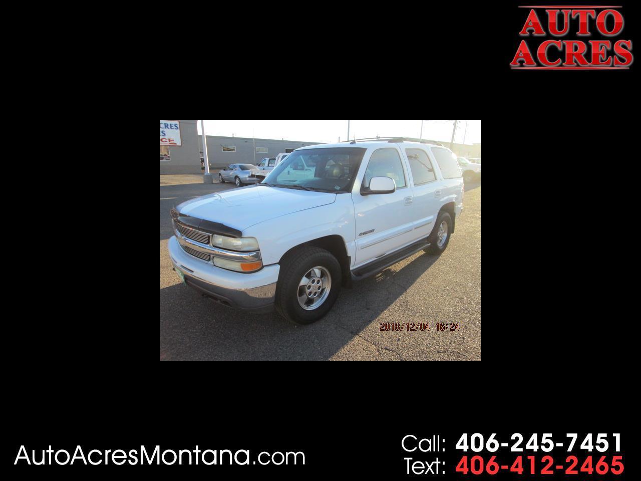 2002 Chevrolet Tahoe 4dr 1500 LT
