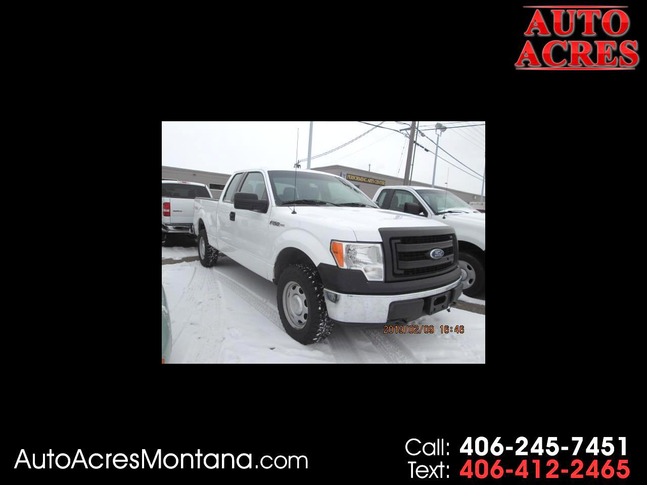"2014 Ford F-150 4WD SuperCab 145"" XL"