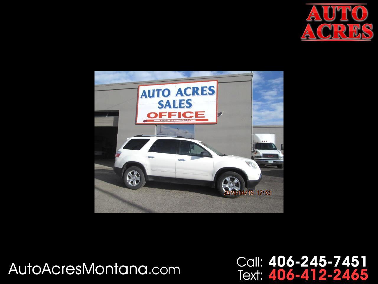 2012 GMC Acadia AWD 4dr SL