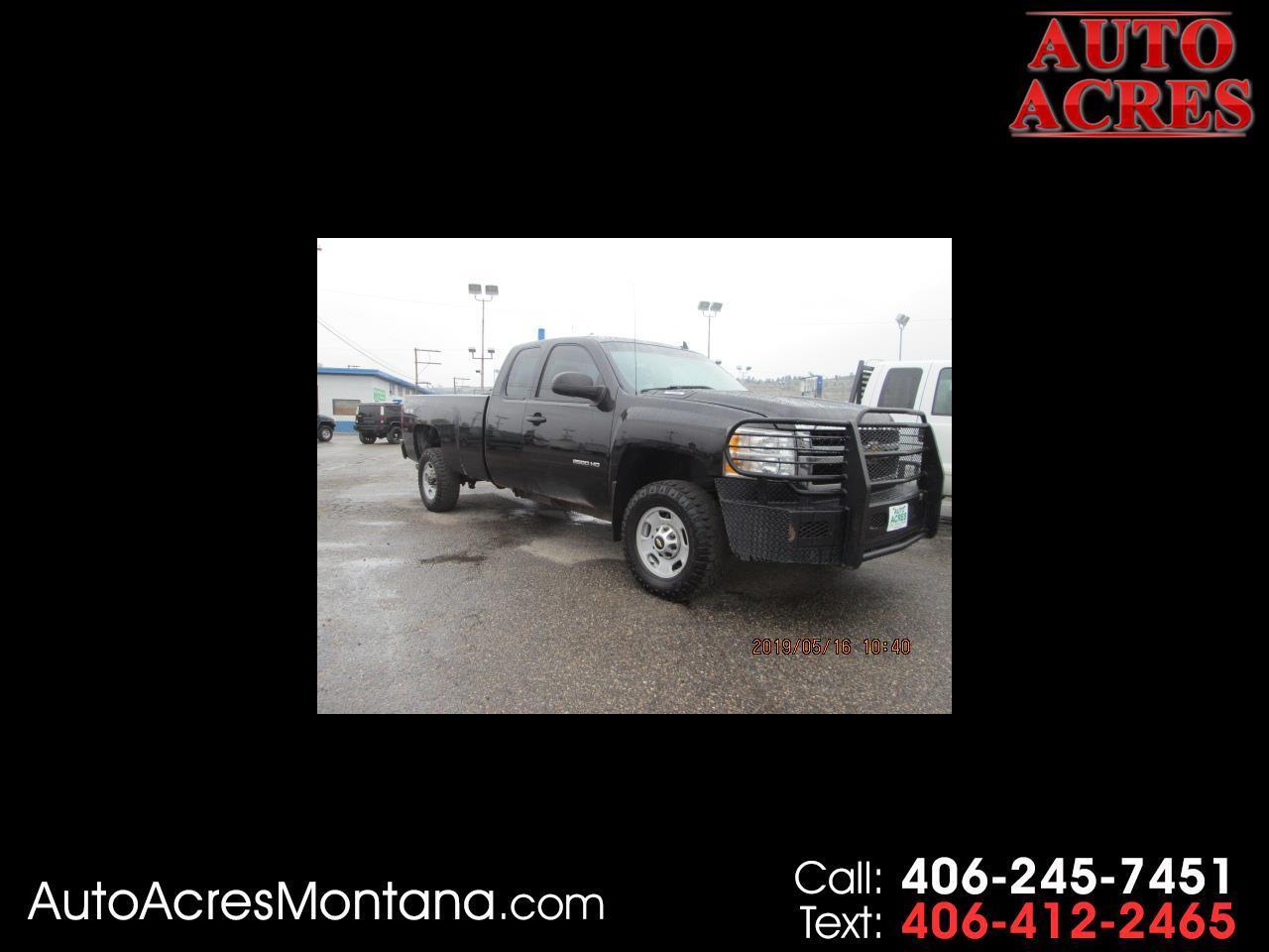 "2012 Chevrolet Silverado 2500HD 4WD Ext Cab 158.2"" Work Truck"