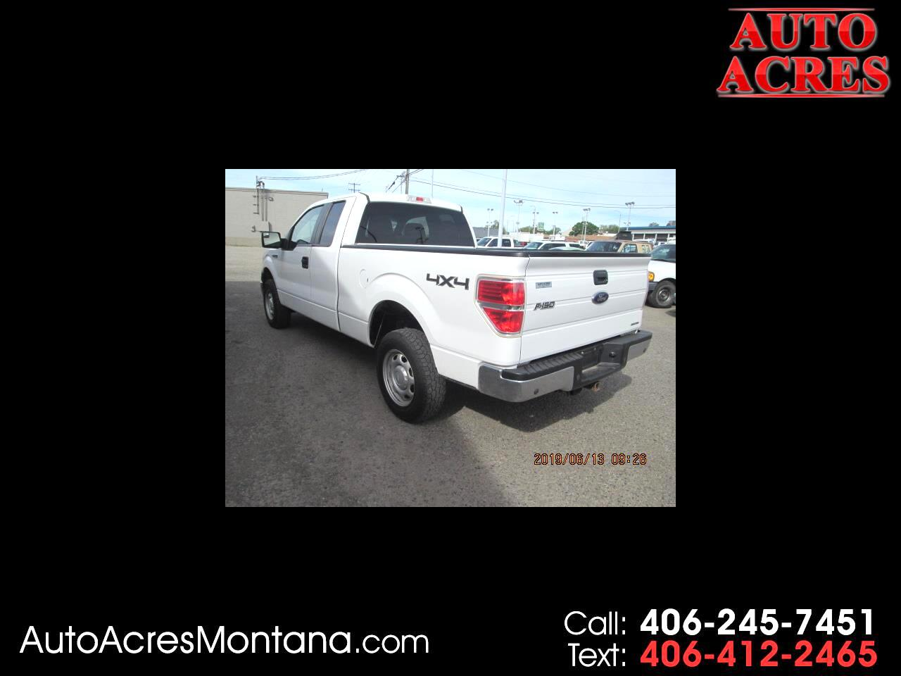 2012 Ford F-150 4WD SuperCab 145