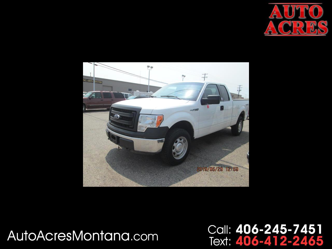 """2014 Ford F-150 4WD SuperCab 145"""" Lariat"""