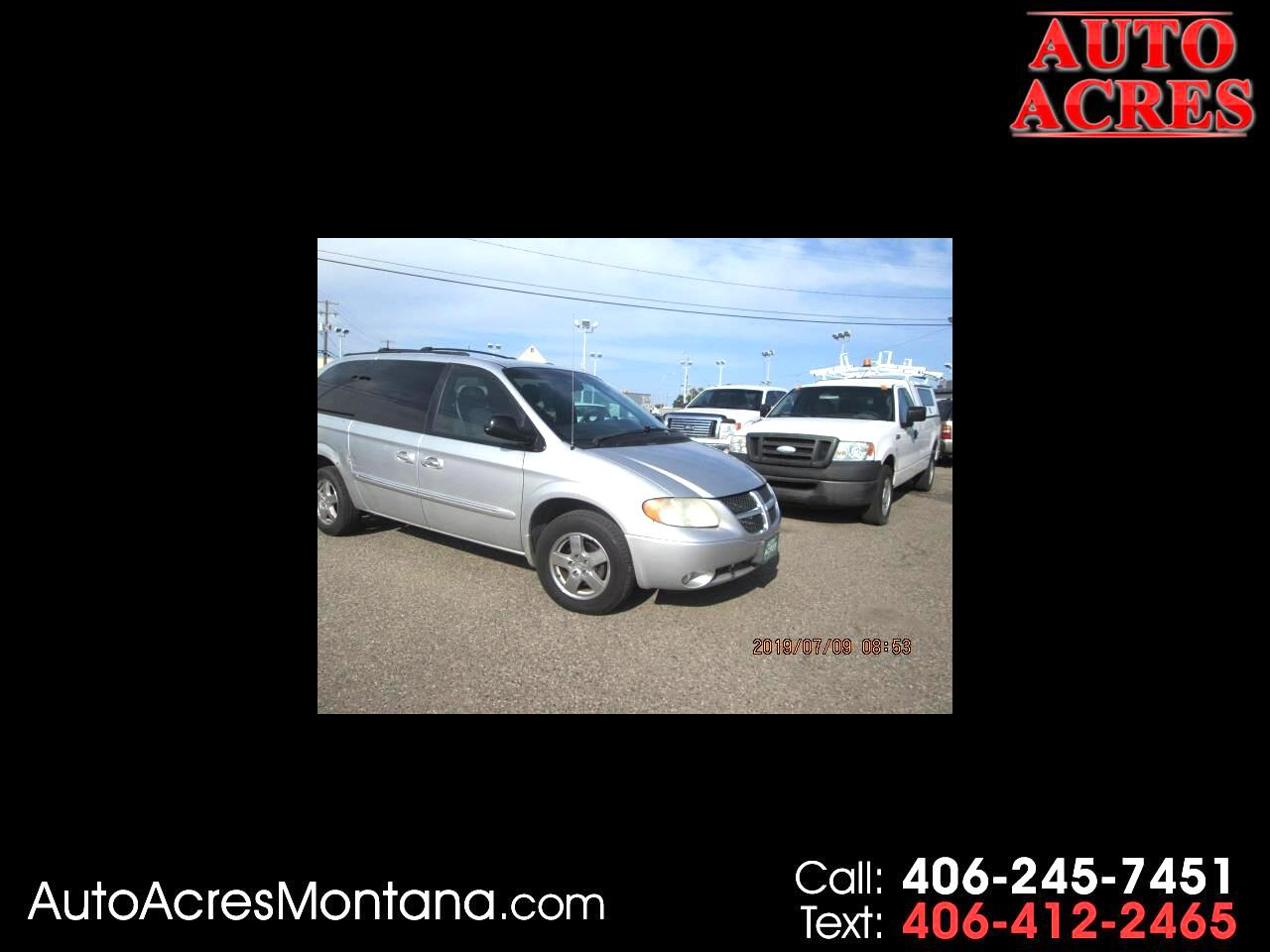 "Dodge Caravan 4dr Grand ES 119"" WB 2003"