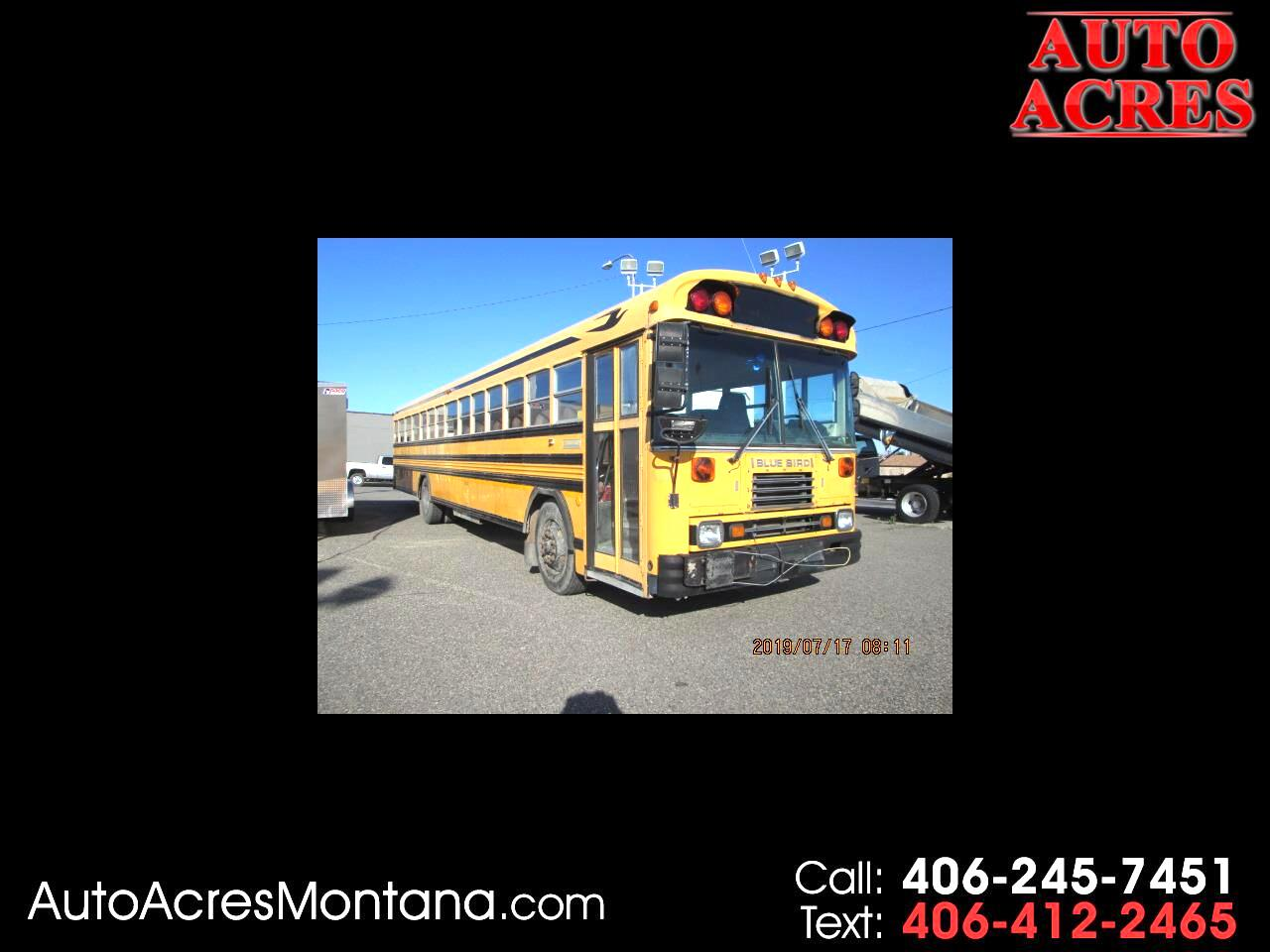 1995 Blue Bird School/Transit Bus
