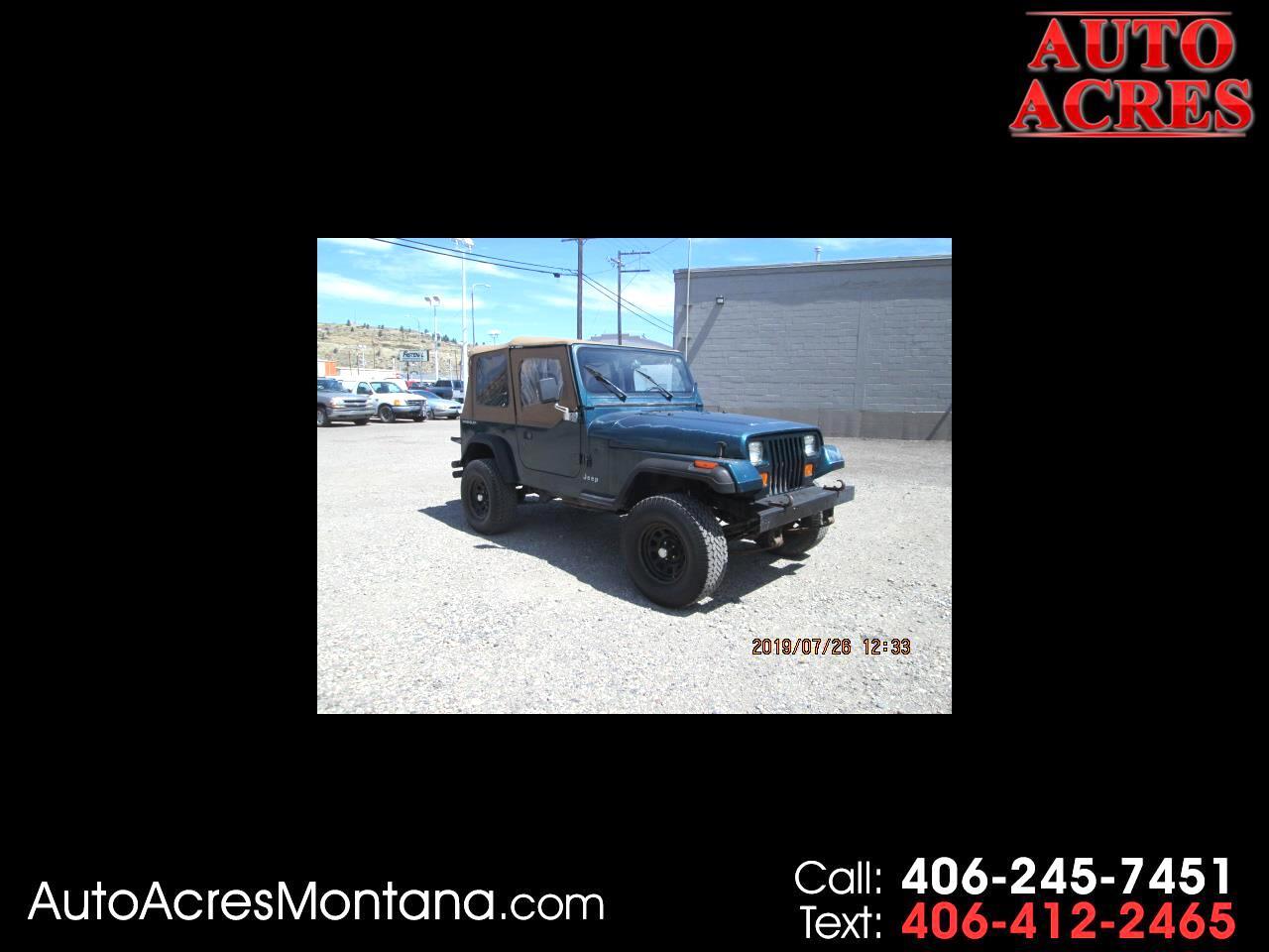 1995 Jeep Wrangler 2dr S