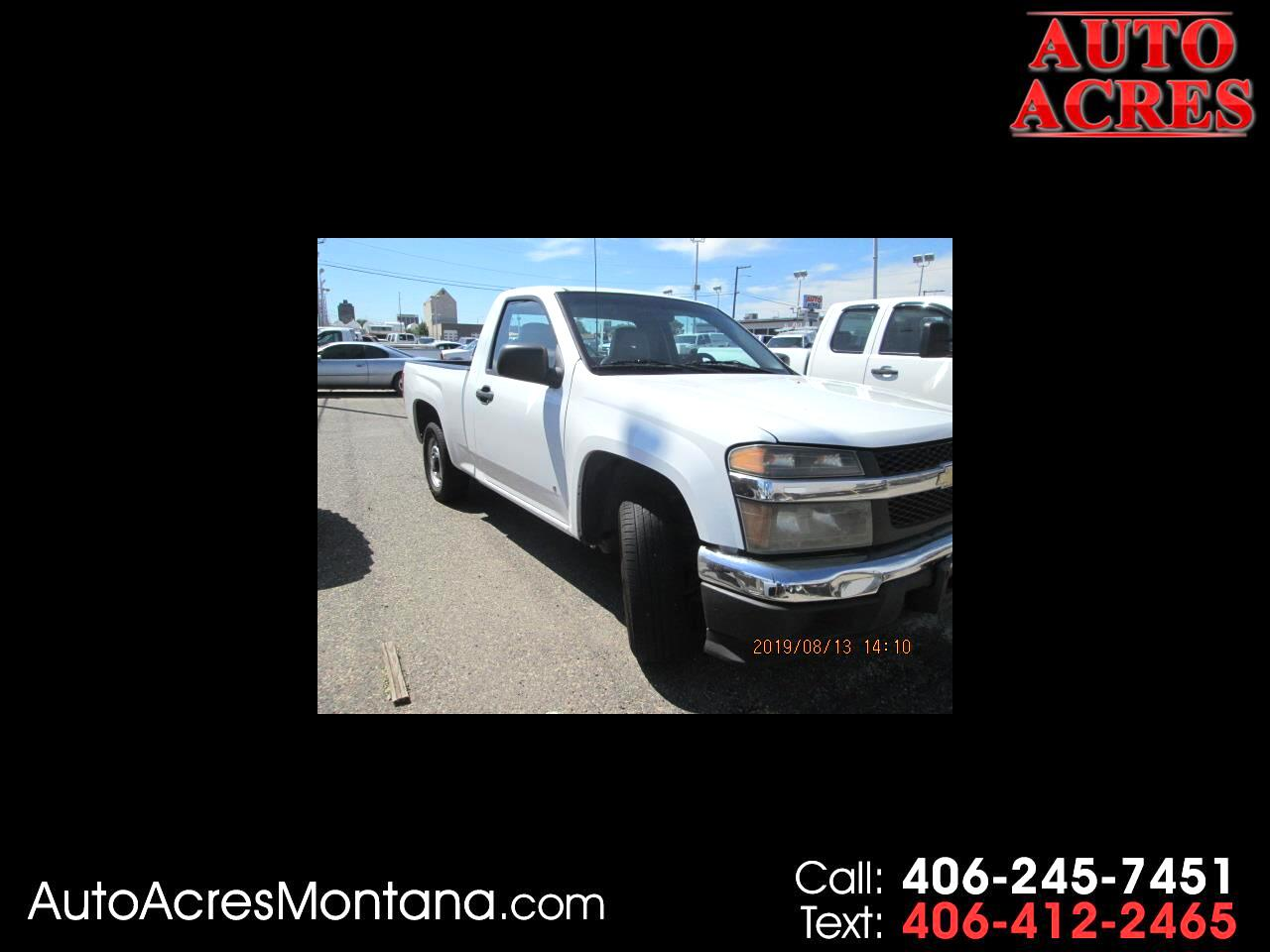 2007 Chevrolet Colorado 2WD Reg Cab 111.2