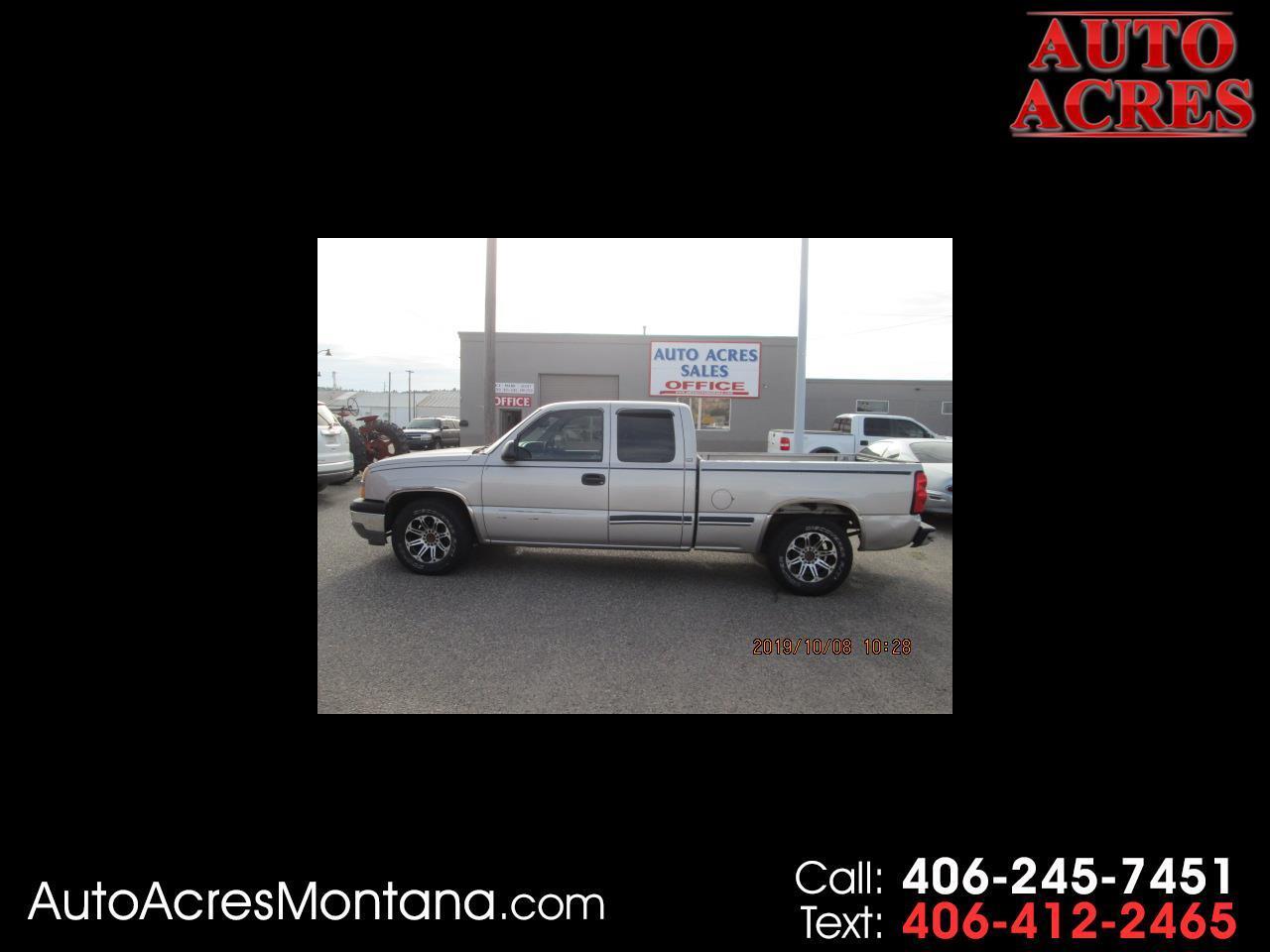 "Chevrolet Silverado 1500 Ext Cab 143.5"" WB Work Truck 2005"