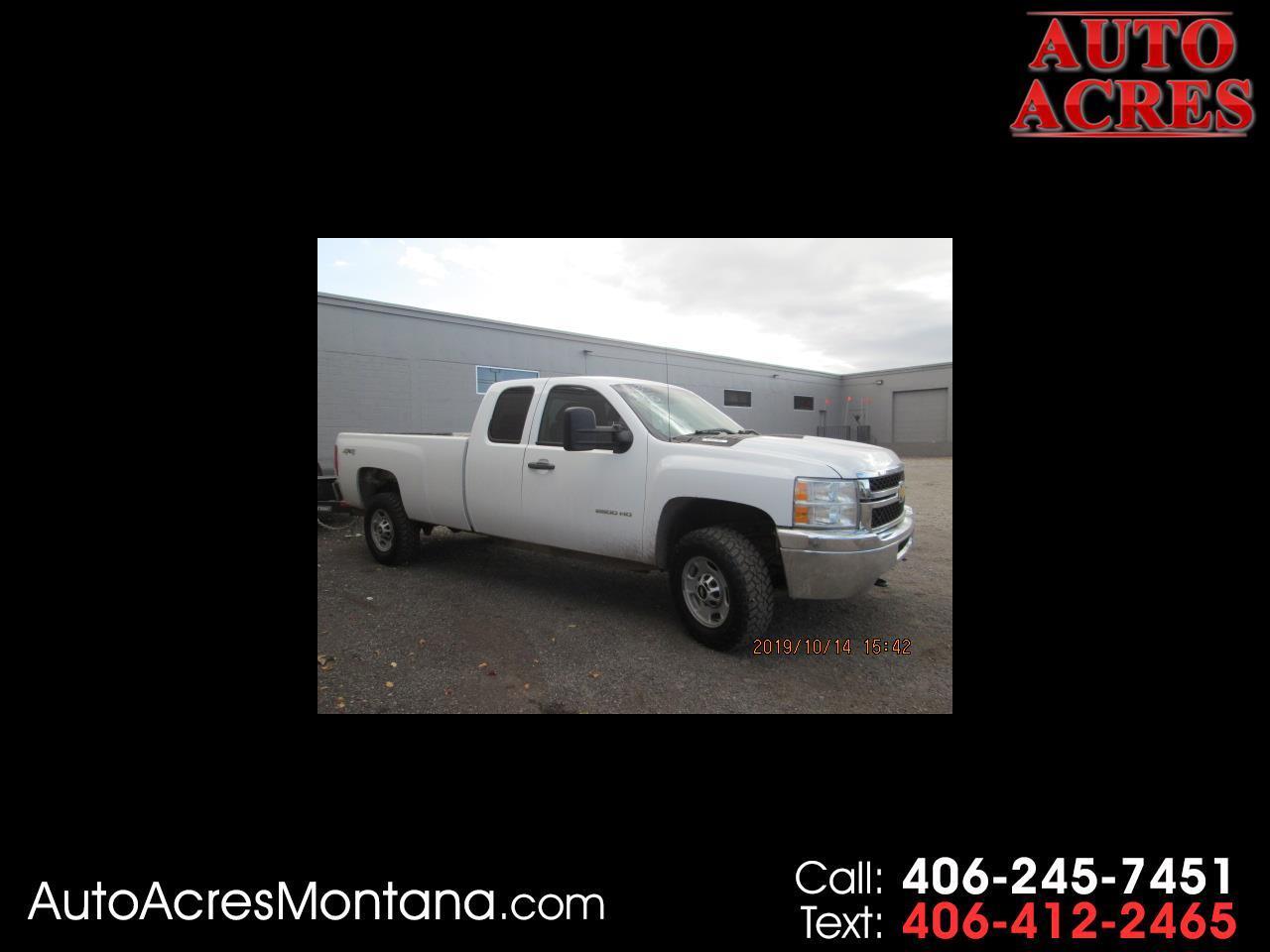 "Chevrolet Silverado 2500HD 4WD Ext Cab 158.2"" Work Truck 2012"
