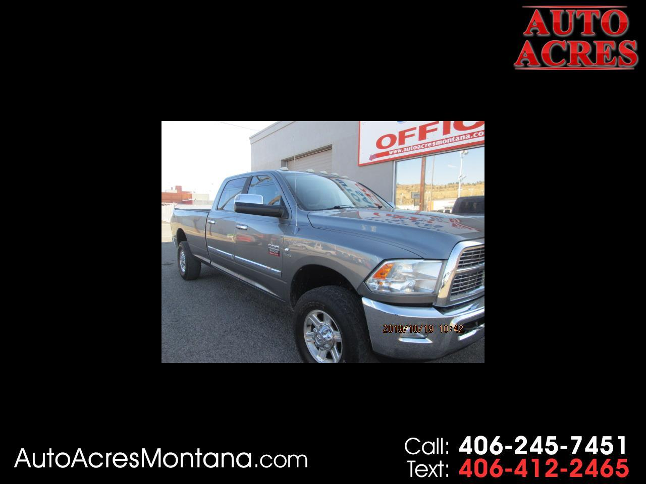 """2011 RAM 3500 4WD Crew Cab 169"""" Laramie"""