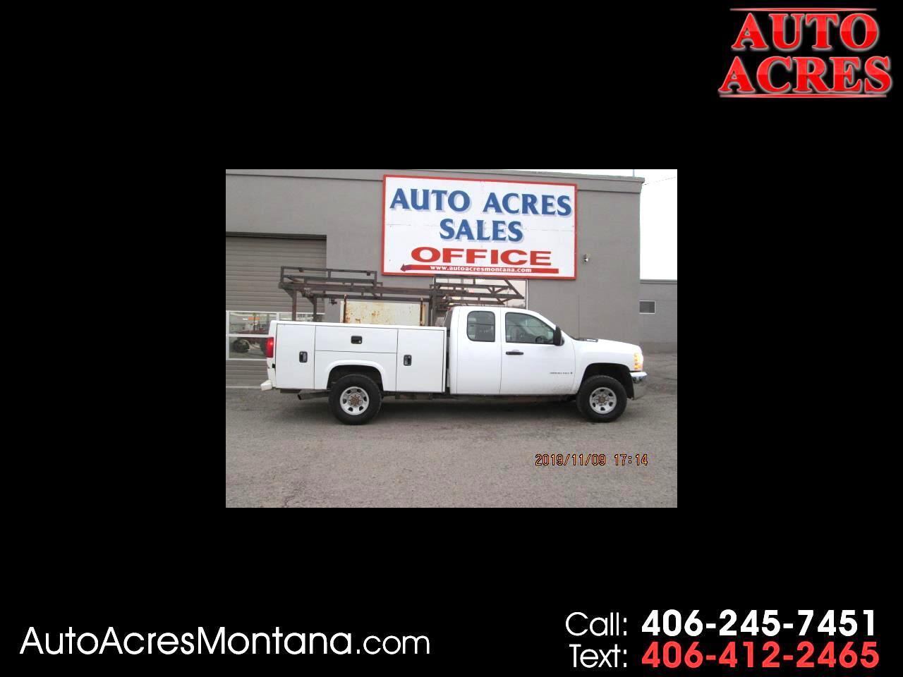 "2007 Chevrolet Silverado 3500HD 4WD Ext Cab 157.5"" SRW Work Truck"