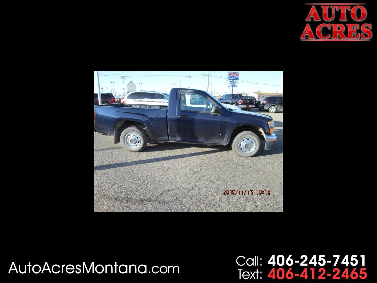 "GMC Canyon 2WD Reg Cab 111.2"" Work Truck 2008"
