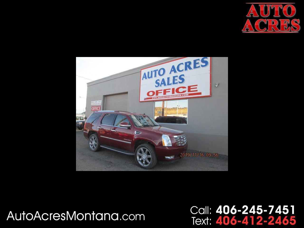 Cadillac Escalade AWD 4dr 2008
