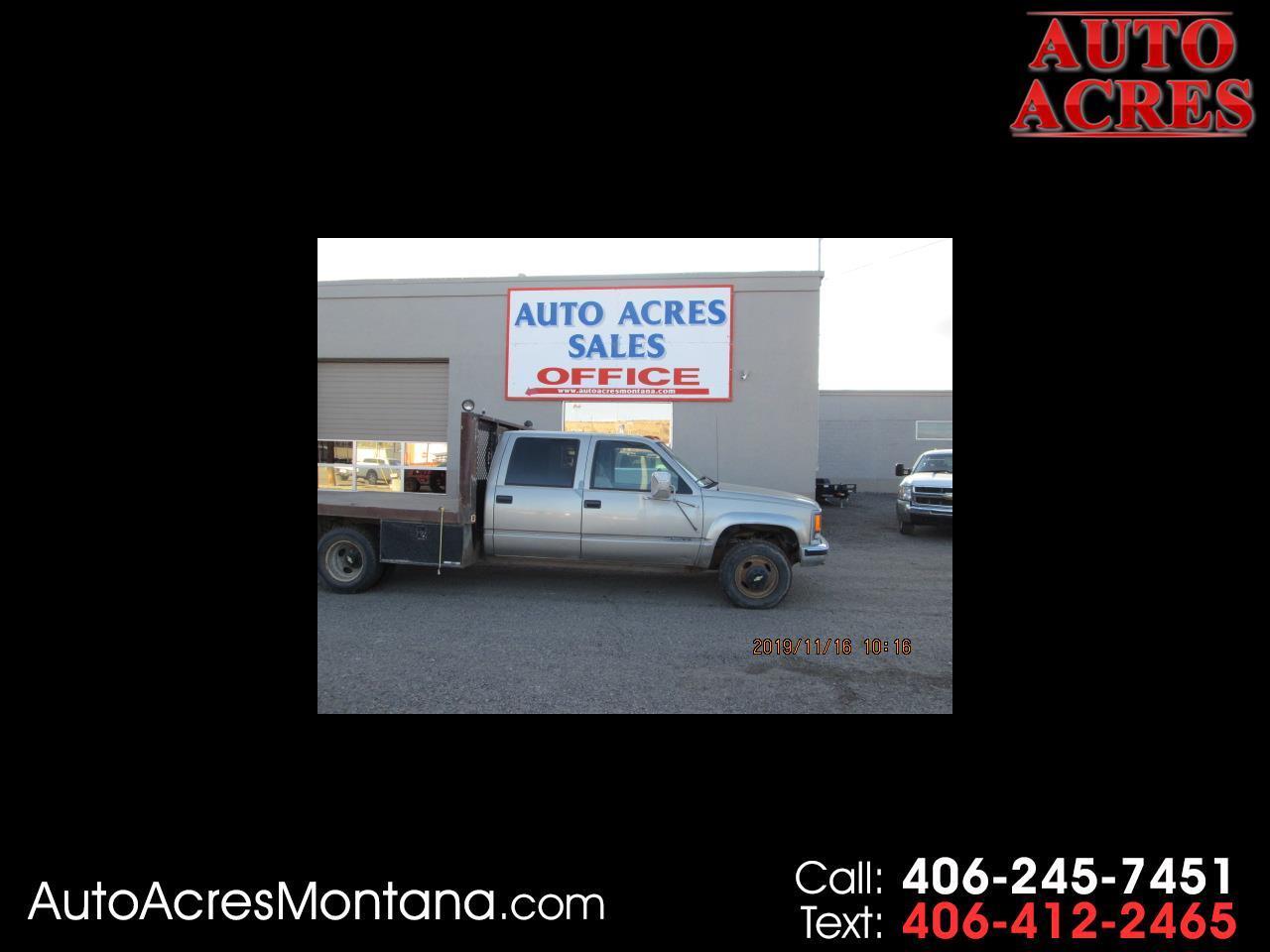 "Chevrolet C/K 3500 Crew Cab 4dr 168.5"" WB 4WD 2000"