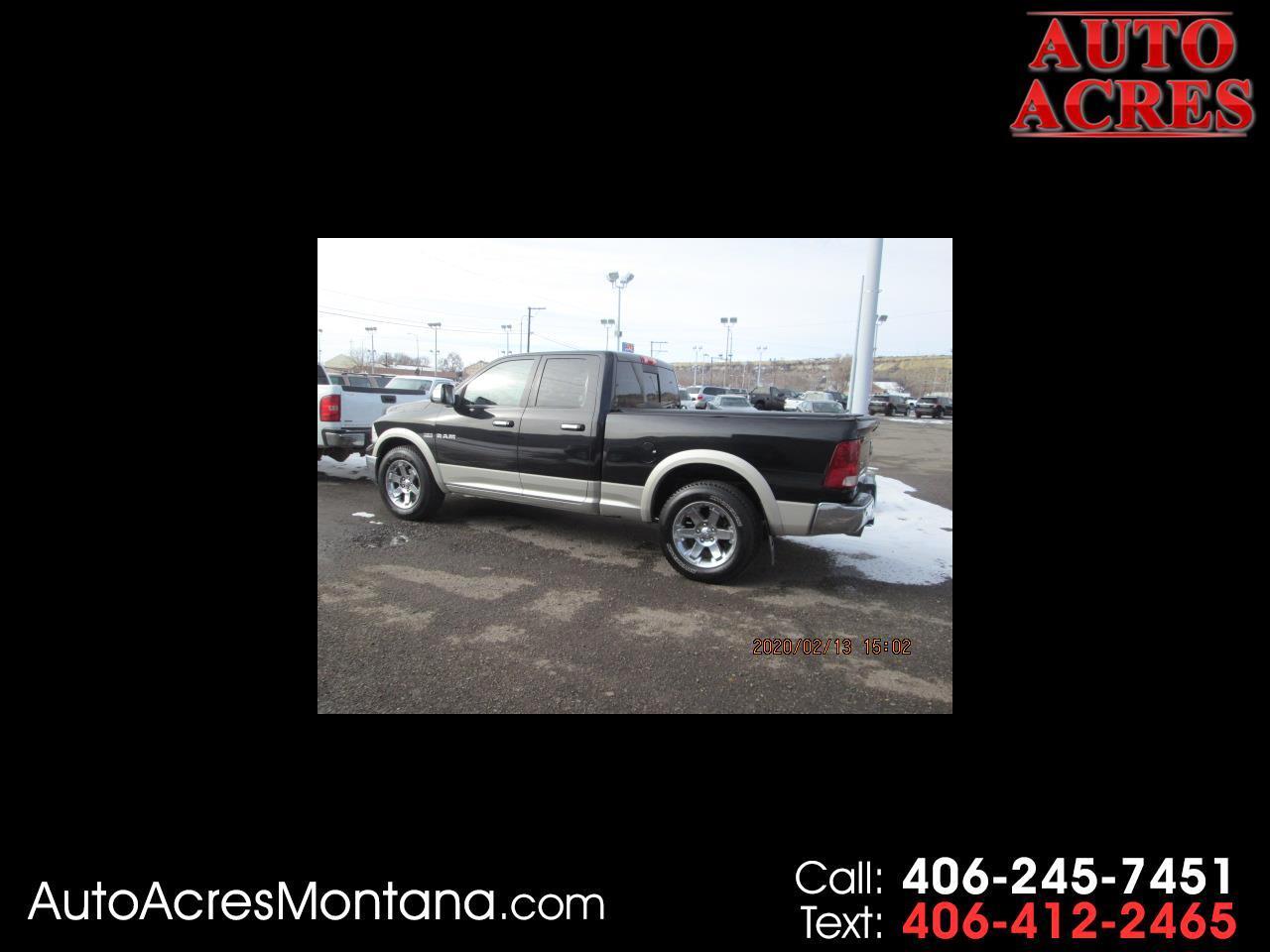 """Dodge Ram 1500 4WD Quad Cab 140.5"""" Laramie 2010"""