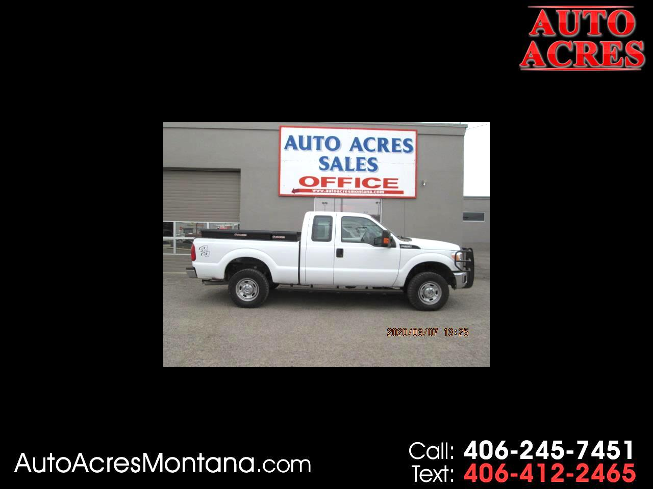 "Ford Super Duty F-250 SRW 4WD SuperCab 142"" XLT 2014"