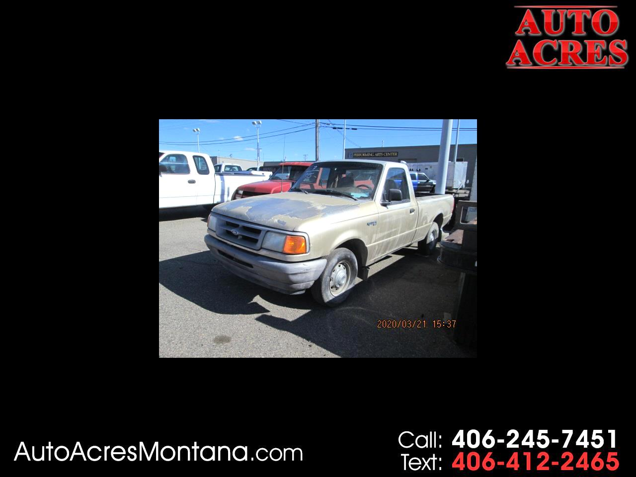 "Ford Ranger Reg Cab 107.9"" WB SPLASH 1995"