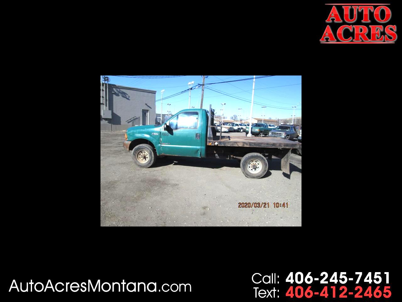"Ford Super Duty F-250 Reg Cab 137"" XL 4WD 2000"