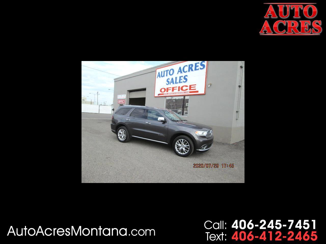 Dodge Durango AWD 4dr Citadel 2014