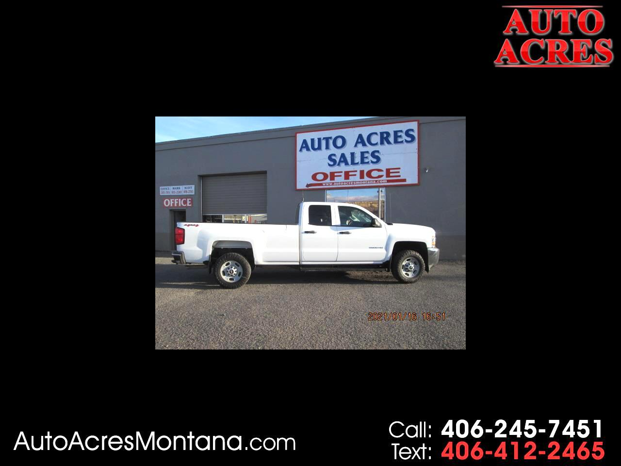 "Chevrolet Silverado 2500HD Built After Aug 14 4WD Double Cab 158.1"" Work Truck 2015"