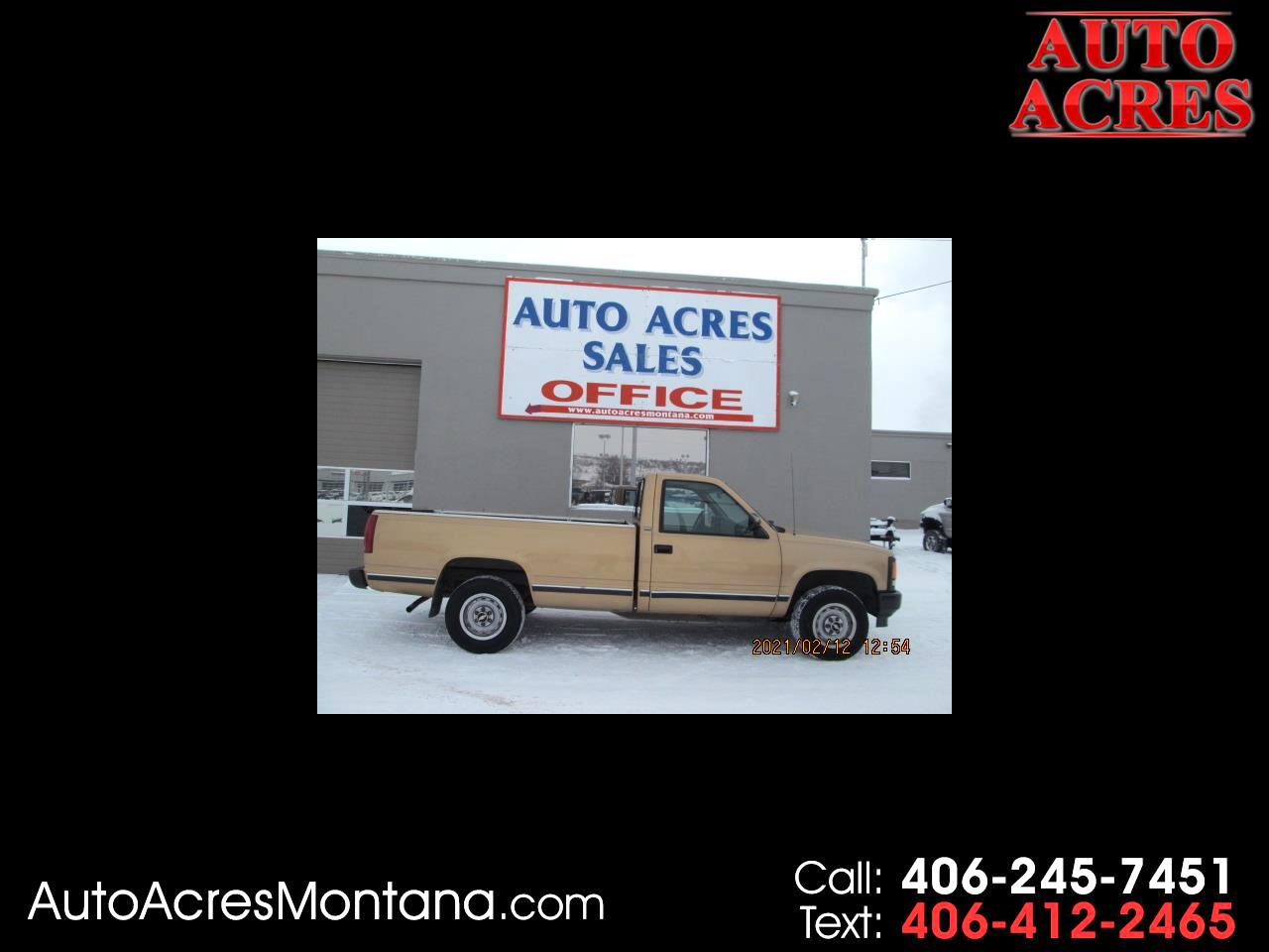 "Chevrolet C/K 1500 Reg Cab 117.5"" WB 4WD 1993"