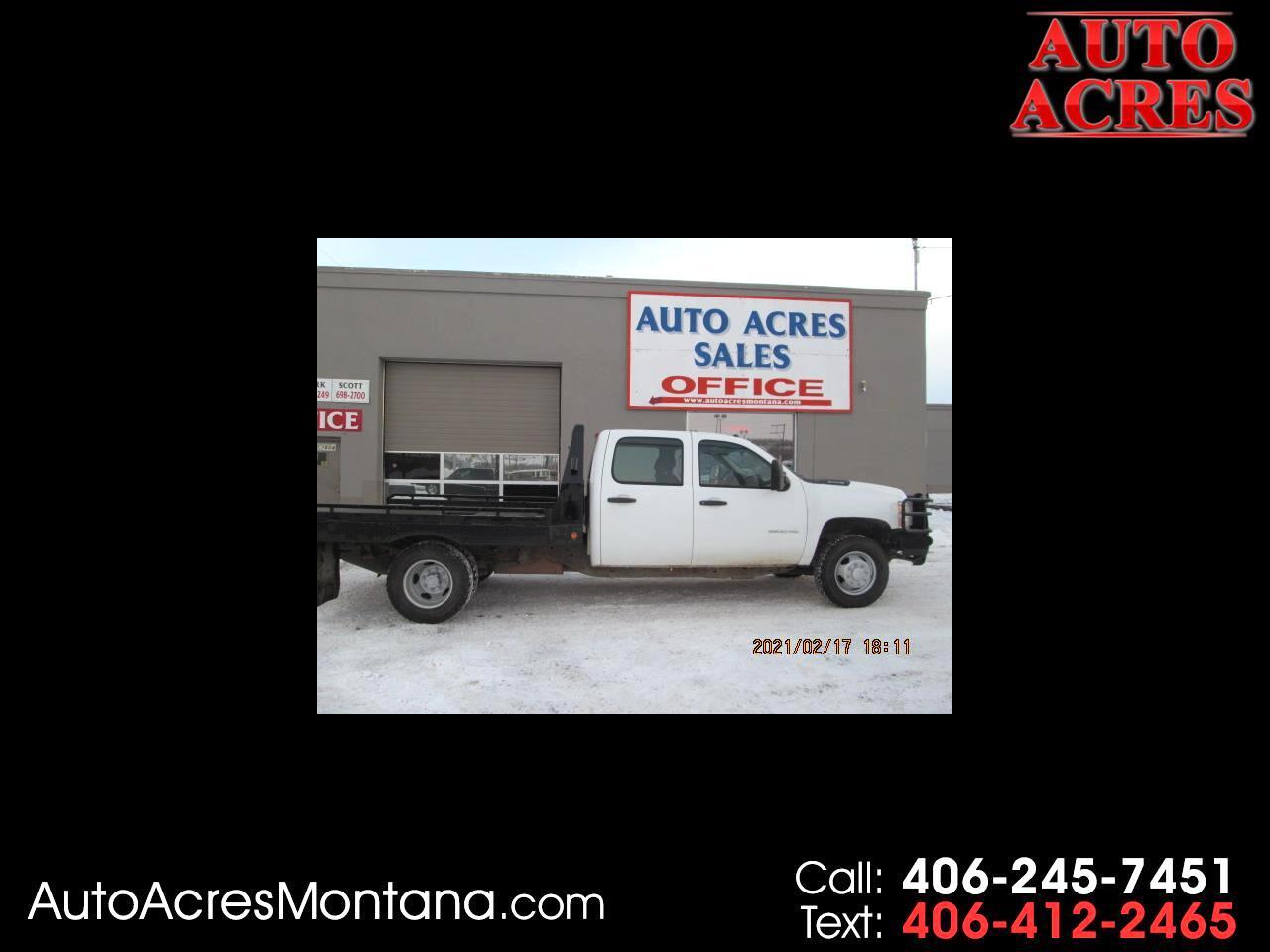"Chevrolet Silverado 3500HD 4WD Crew Cab 171.5"" WB, 59.4"" CA WT 2012"