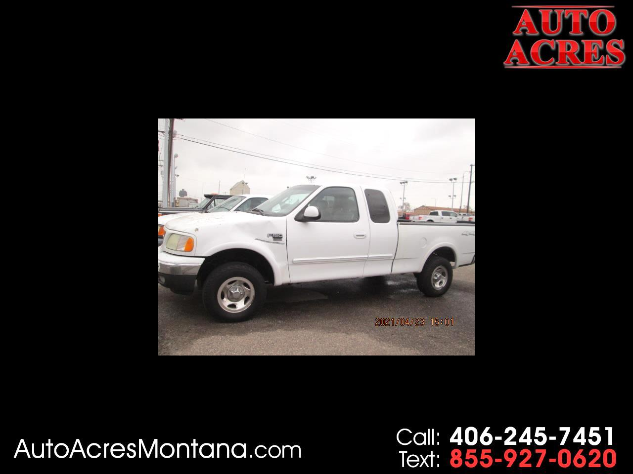 "Ford F-150 Supercab 139"" XLT Heritage 4WD 2003"