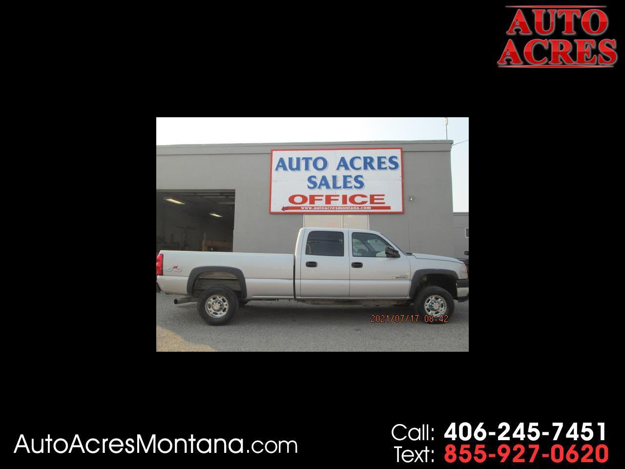 """Chevrolet Silverado 2500HD Crew Cab 167"""" WB 4WD Work Truck 2006"""