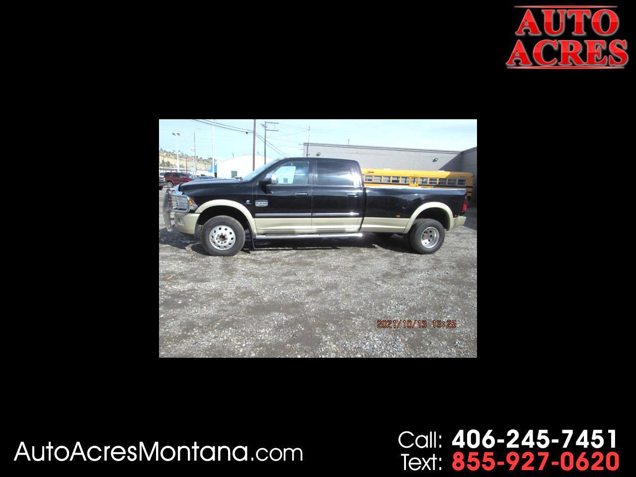 "RAM 3500 4WD Crew Cab 169"" Laramie Longhorn 2012"