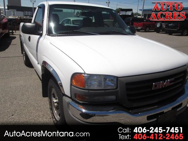 GMC Sierra 1500 Work Truck Short Bed 2WD 2004