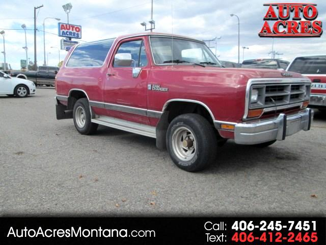 1990 Dodge Ram Charger 150 4WD